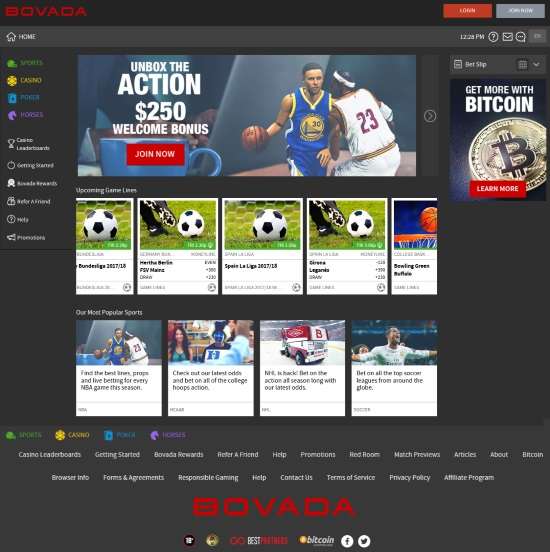 Bovada lv Sportsbook Review - iGamingDirect - Online
