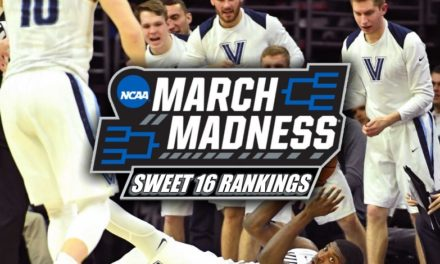 2018 March Madness Sweet 16 Rankings
