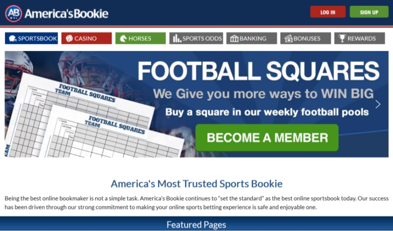 America's Bookie Sportsbook Review