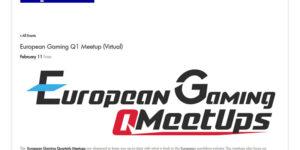 European Gaming Q1 Meetup