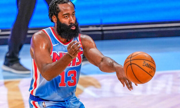Harden Debuts with Nets with Triple Double